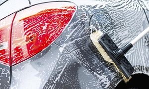 Two Full-service Car Washes With Interior Cleanings And Tire Dressings At Detail My Ride (55% Off)
