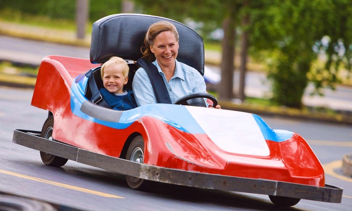 Treetop Family Adventure - Chelsea: $7 for Two Family Fun-Park Activities at Treetop Family Adventure ($14.95 Value)