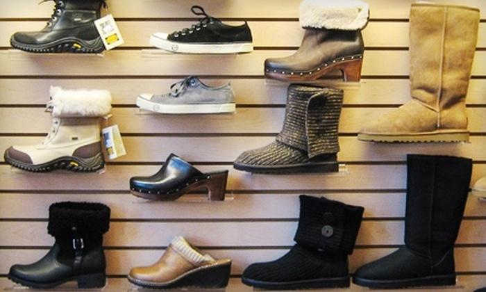 The Shoe Inn - Carlingwood - McKellar Park - Laurentien View: $25 for $50 Worth of Women's Shoes at The Shoe Inn