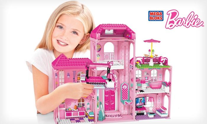 Mega Bloks Barbie Luxury Mansion: $59 for a Mega Bloks Barbie Build 'n Style Luxury Mansion ($79.99 List Price). Free Shipping.