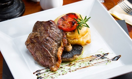 TwoCourse Meal with Optional Wine for Two or Four at We Three Loggerheads