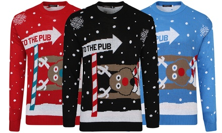 Adults' Unisex Christmas Jumpers for £12.98