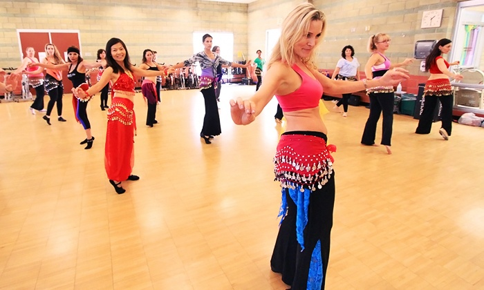 Belly Dance 4 Fitness - Multiple Locations: Four or Six Classes or Beginner Belly Dance Workshop at Belly Dance 4 Fitness (Up to 61% Off)