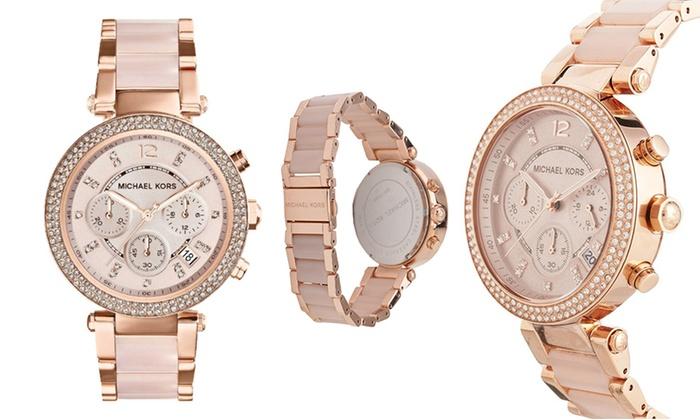 c5f228d5efb7 Michael Kors Blush Watches