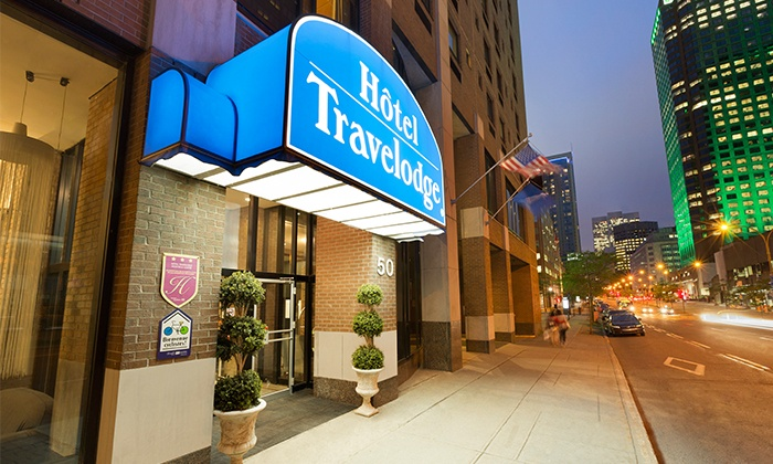 Hotel Travelodge Montreal Centre Quartier Ville Marie 89 For A 1 Night