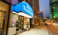 $85 for a 1-Night Stay with Breakfast and Parking for Two at Travelodge Montreal Centre ($141 Value)