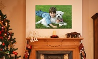 GROUPON: Up to 85% Off a Photo Canvas from Fabness Fabness