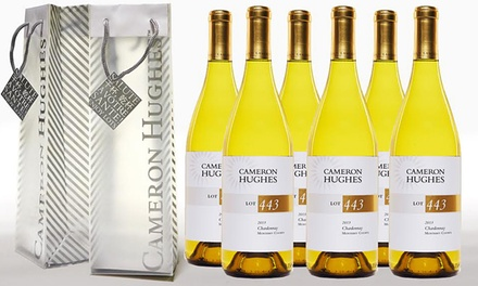 Cameron Hughes Lot 443 2013 Monterey County Chardonnay Wine Sampler (6 pack)