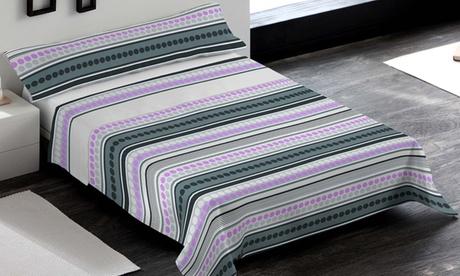 Juego de sábanas de 3 piezas fabricado 100% de microfibra poliéster