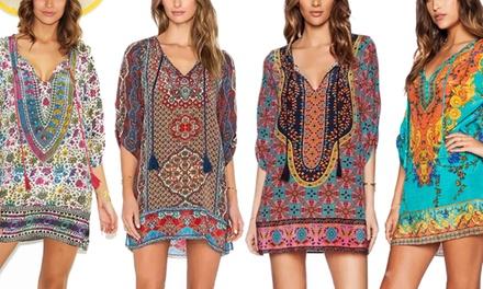 1 o 2 túnicas de estilo bohemio disponible en varios diseños y tallas desde 17,99 €