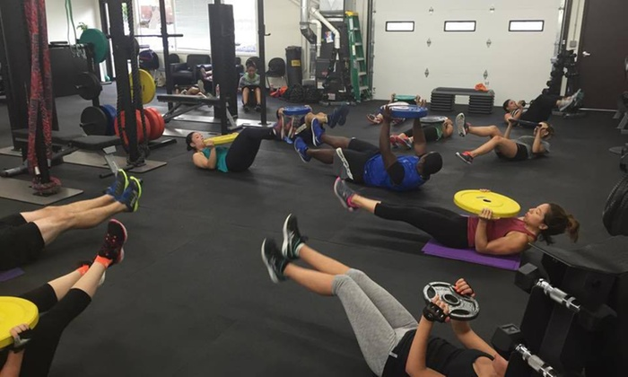 Fitness Edge Md - Gaithersburg: Five Boot-Camp Classes at Fitness Edge MD (75% Off)