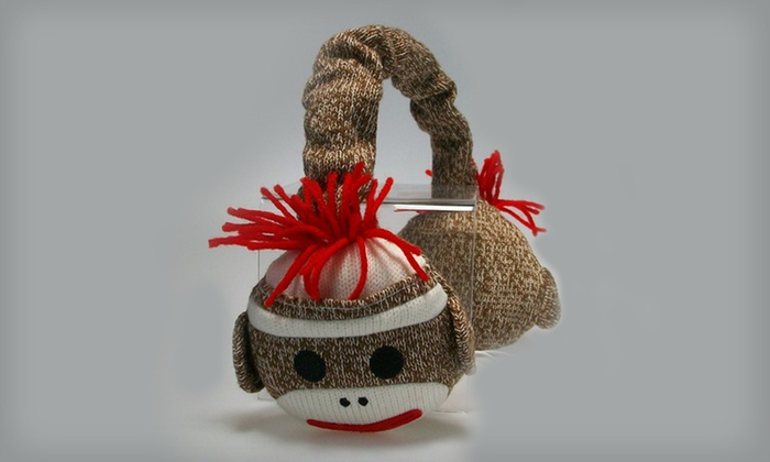 Sock-Monkey Headphones: $19 for Sock-Monkey Headphones ($49.99 List Price). Free Shipping and Free Returns.