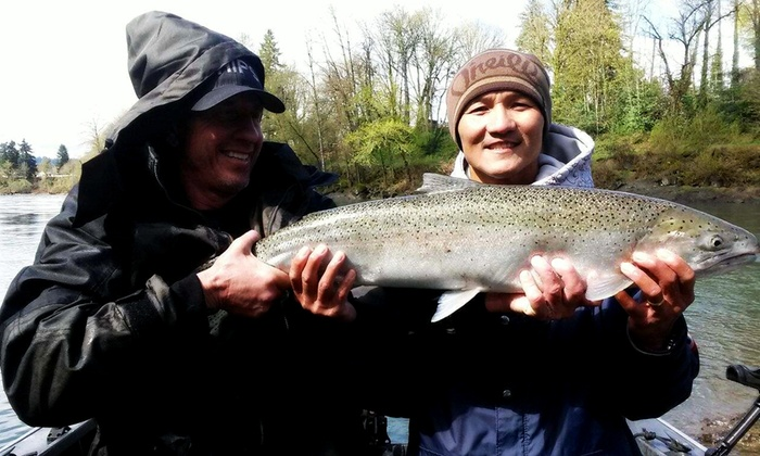 Oregon City Charters - Oregon City Charters: $262 for All-Day Fishing Trip for Three People from Oregon City Charters ($525 Value)