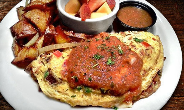 Atomic Omelette and Grill - South Side: Breakfast and Lunch Diner Food, Valid Friday–Sunday or Tuesday–Thursday at Atomic Omelette and Grill (Half Off)