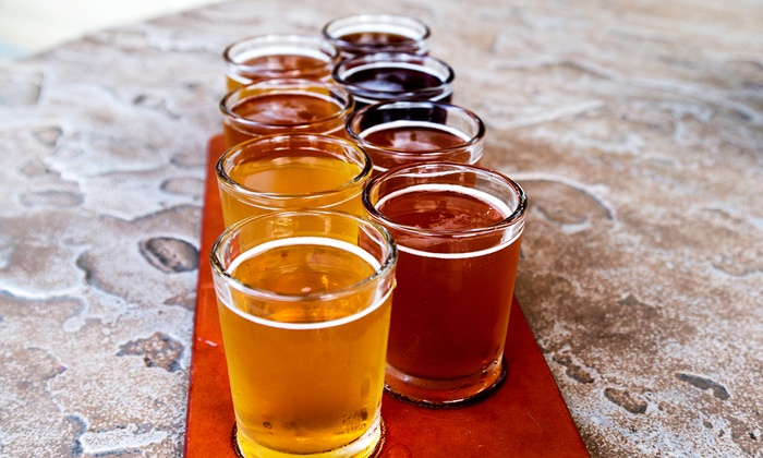 Brew Rebellion - Yucaipa: Beer Flights with Souvenir Glasses for Two, Four, Six, or Eight at Brew Rebellion (Half Off)