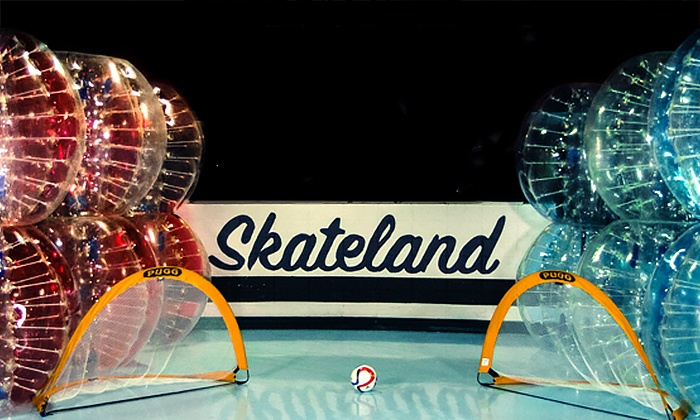 Skateland West - Westland: Bubble-Soccer Experience for Two, Four, or Six at Skateland West (Up to 52% Off)