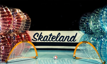 Bubble-Soccer Experience for Two, Four, or Six at Skateland West (Up to 52% Off)