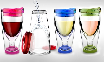 Asobu Ice Vino 2 Go Travel Cups 2-Pack. Multiple Colors Available. Free Returns.