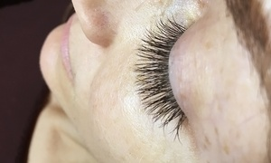 Makeup by Kim Nicole: Full Set of Eyelash Extensions with Optional Two-Week Fill at Makeup by Kim Nicole (63% Off)