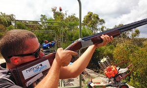 Hitting Targets: 90-Minute Group Clay Target Shooting for 1 ($98) or 2 People ($189) at Hitting Targets, Cecil Park (Up to $400 Value)