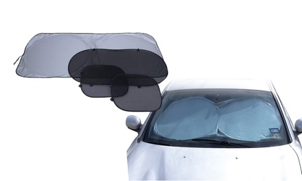 4-Piece Set of Car Window Sun Blockers