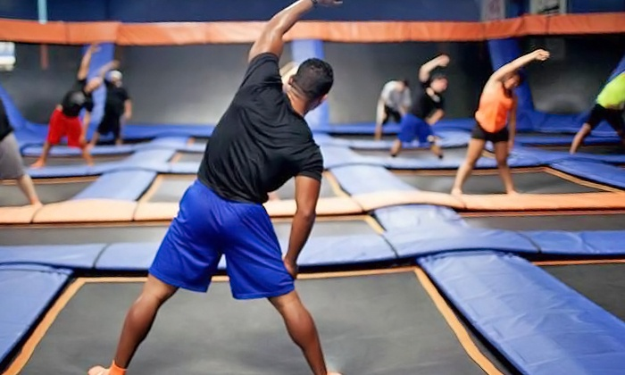 Sky Zone Indoor Trampoline Park - Ottawa: Ten SkyRobics Sessions at Sky Zone Indoor Trampoline Park (Up to 46% Off). Two Options Available.