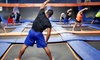 Sky Zone Indoor Trampoline Park - Ottawa: Ten SkyRobics Sessions at Sky Zone Indoor Trampoline Park (Up to 53% Off). Two Options Available.