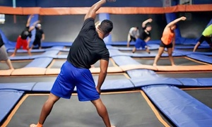 Sky Zone Indoor Trampoline Park: Ten SkyRobics Sessions at Sky Zone Indoor Trampoline Park (Up to 46% Off). Two Options Available.