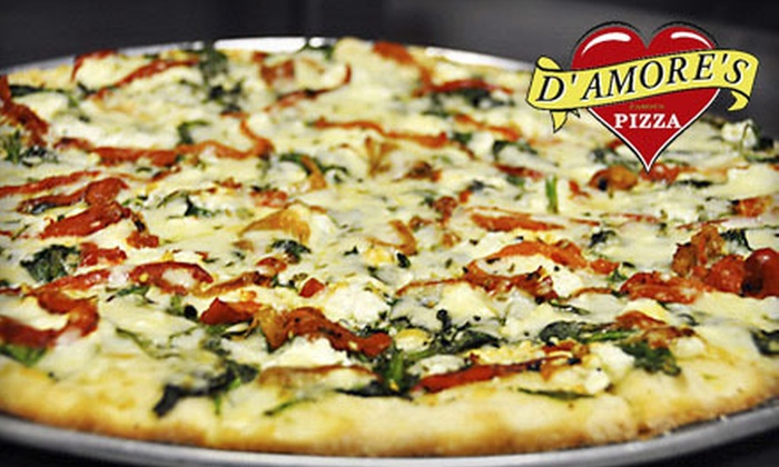 D'Amore's Pizza - Winnetka: 50% Off Italian Pizzeria Cuisine at D'Amore's Pizza (Half Off). Two Options Available.