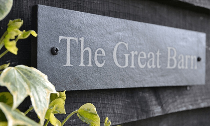 Design a House Sign Merchandising UK Groupon