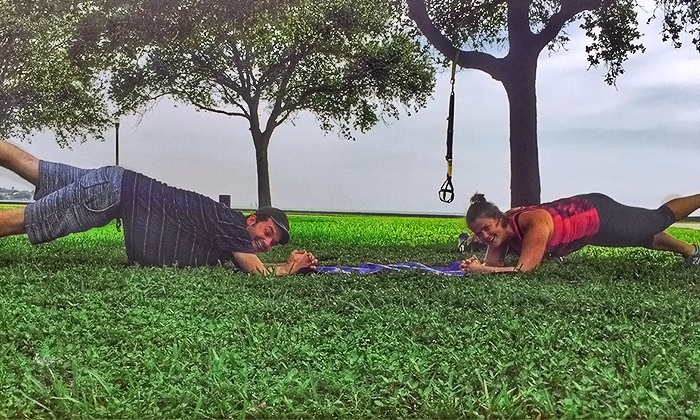 Burg Fitness - St Petersburg: $20 for $75 Worth of Couples Fitness at Burg Fitness