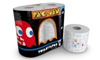 20 o 40 rotoli di carta igienica Pac Man in pura cellulosa