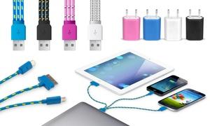Câbles 3 en 1 iPhone/Android