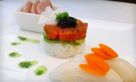 $30 Groupon to Emzy Sushi Bar and Asian Kitchen - Emzy Sushi Bar and Asian Kitchen in Charlotte