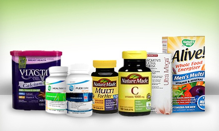 Nutrasource.com: $15 for $30 Worth of Vitamins and Supplements from Nutrasource.com