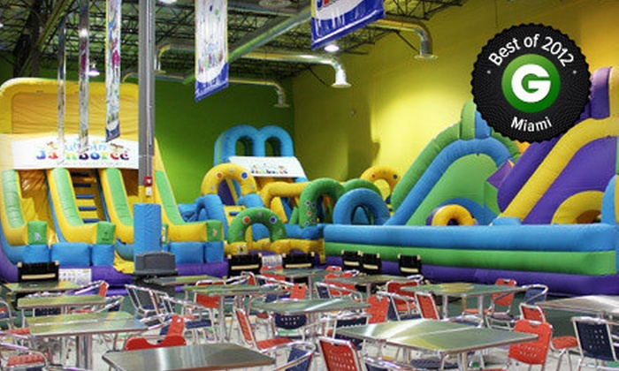 Jumpin' Jamboree - Doral: Kids' Bounce Visit for Two or Four at Jumpin' Jamboree (Up to 55% Off)
