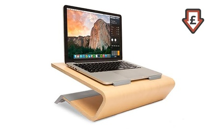Techlink Wooden MacBook Stand