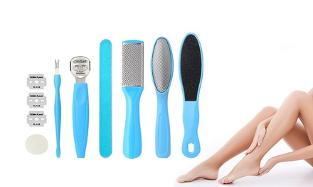 EightPiece Foot File Pedicure Callus Remover Set: One $12.95 or Two $22.95