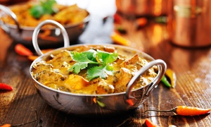 The Chilli Lodge Tingley: Two-Course Indian Meal for Two or Four at The Chilli Lodge Tingley (Up to 51% off)
