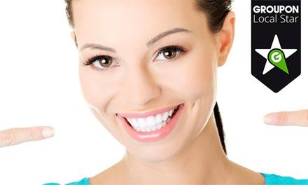Medidental — Alcântara: destartarização com polimento e check-up dentário com opção de branqueamento LED desde 16,90€