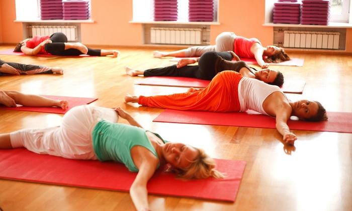 UpRise Yoga - UpRise Yoga: Five Hot Yoga Classes at UpRise Yoga (75% Off)