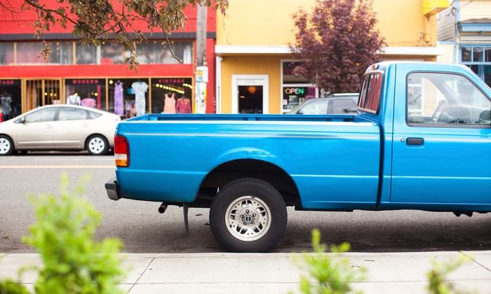 Rhino Lining Truck Bed Liner Distinctive Ride Groupon