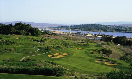 $57 for an 18-Hole Round of Golf for 2 with Cart Rental Mare Island Golf Club (Up to $116 Value)
