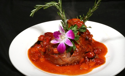 $40 Groupon for Dinner Monday-Thursday - Casanova Restaurant & Lounge in Clearwater