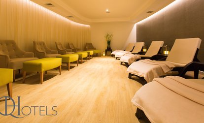Spa Access with Towel Hire, Danish Pastry and Drink for Two at 4* Belton Woods (67% Off)