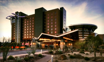 One-Night Stay with Two Casino Vouchers at Wild Horse Pass Hotel & Casino in Chandler, AZ from Wild Horse Pass Hotel & Casino -