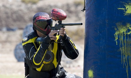 AllDay Paintball Package for 2, 4, 6, or 8 at Drop Zone Paintball & Airsoft Park (Up to 54% Off)