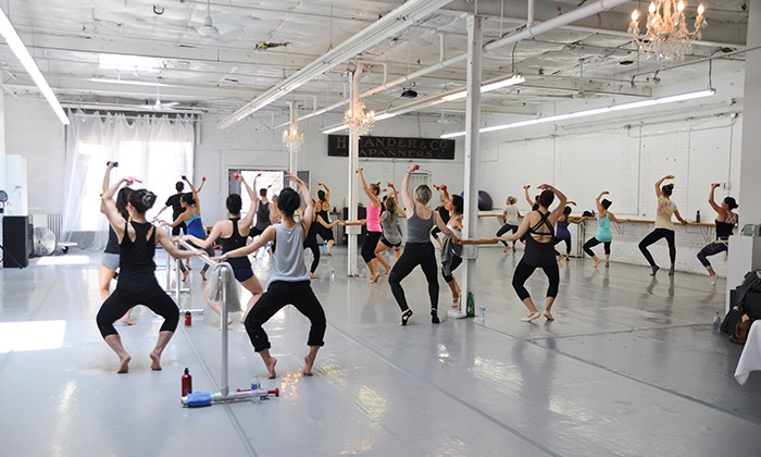 The Extension Room - Toronto: 5- or 10-Class Ballet Fitness Pass at The Extension Room (Up to 66% Off)