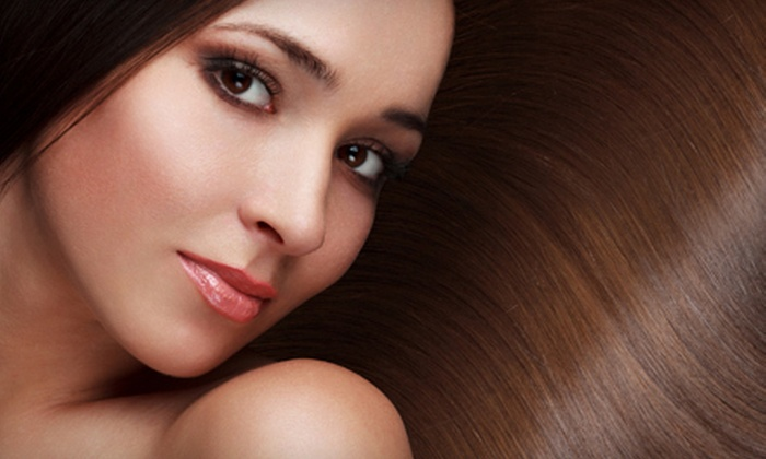 Desiree Hill at Delaney Salon Suites - Mansfield: Brazilian Blowout with Option for Haircut or Haircut and Highlights at Delaney Salon Suites (Up to 72% Off)