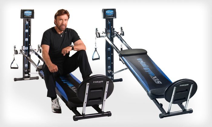 Total Gym XLS: Total Gym XLS with Optional AbCrunch Accessory (Up to 73% Off)